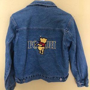 Vintage Winnie the Pooh Jean Jacket
